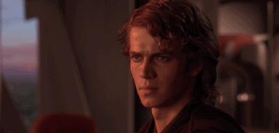 Hayden Christensen as Anakin Skywalker in 'Star Wars: Episode III - Revenge of the Sith'