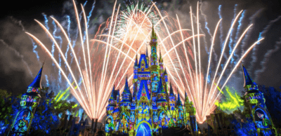 Happily Ever After Fireworks at Cinderella Castle