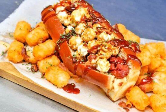 Falcon Hot Dog Simply Greek