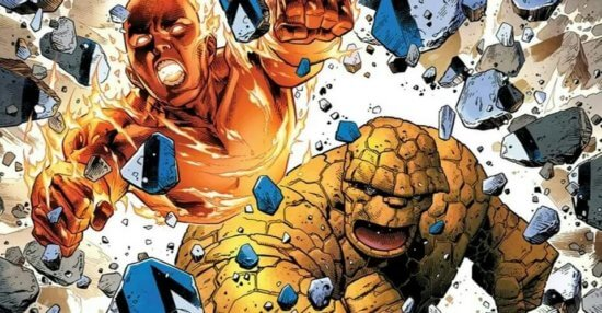 human torch the thing