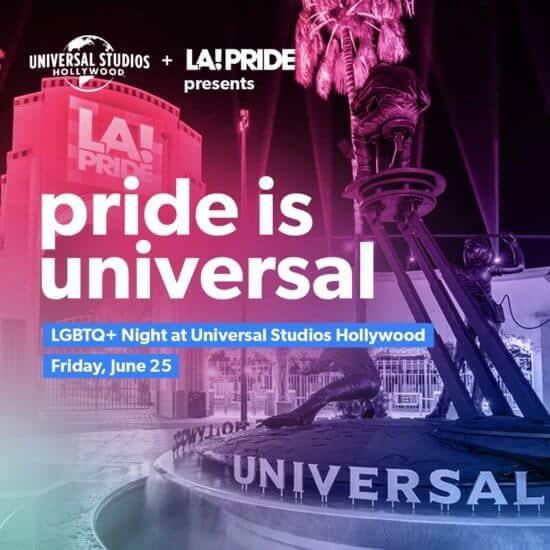 Universal Hollywod pride