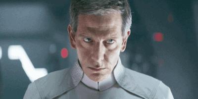 Orson Krennic (Ben Mendelsohn) in Rogue One (2016)