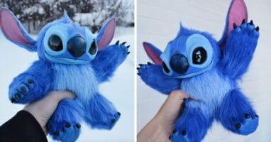 stitch doll