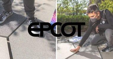 epcot world celebration pavement