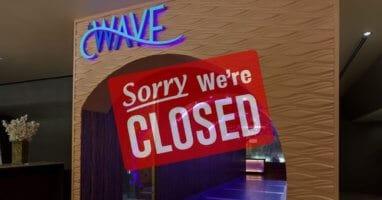 the wave closing disney world