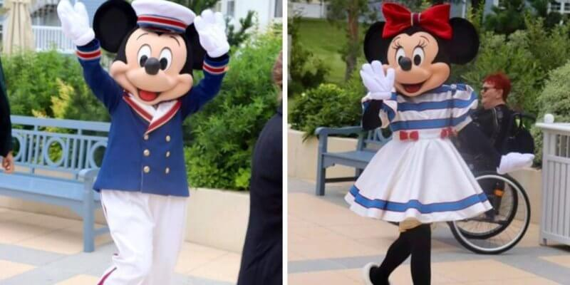 mickey and minnie new costumes