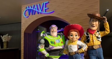 the wave possible pixar character dining
