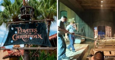 pirates of the carbbean boat derails