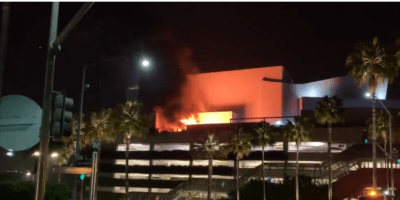 Universal Hollywood Fire