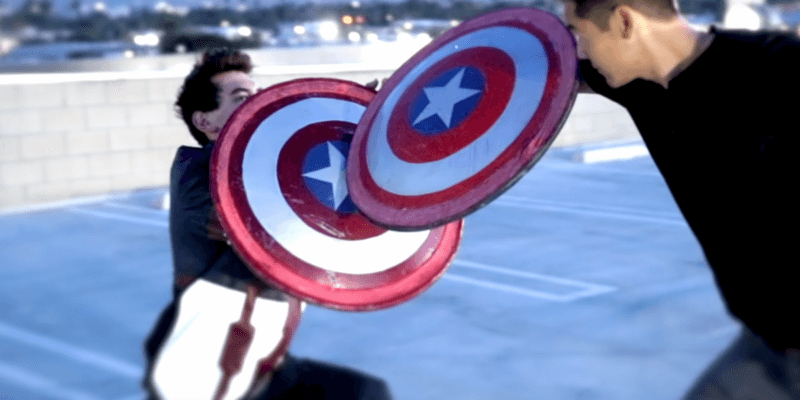 Real Life Captain America Shield that Bounces Back