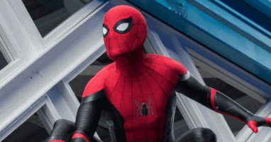 """Spider-Man (Tom Holland) in """"Spider-Man: Far From Home"""" (2019)"""