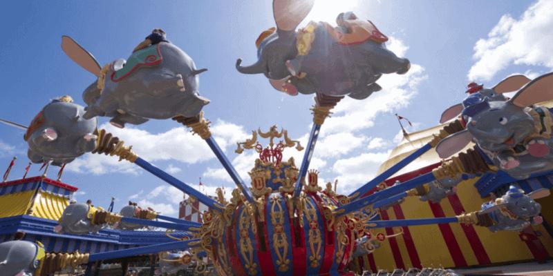dumbo at disney world magic kingdom