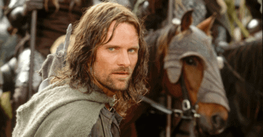 """Aragorn (Viggo Mortensen) in """"The Lord of the Rings: The Two Towers"""" (2002)"""