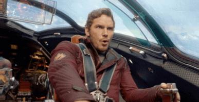 "Starlord (Chris Pratt) in ""Guardians of the Galaxy"" (2014)"