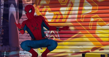 Spider-Man at Avengers Campus