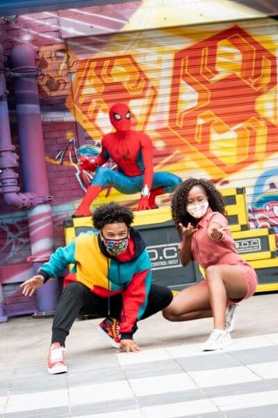 The Amazing Spider-Man at Avengers Campus