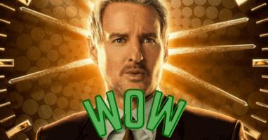 Wow Owen Wilson as Agent Mobius in Loki