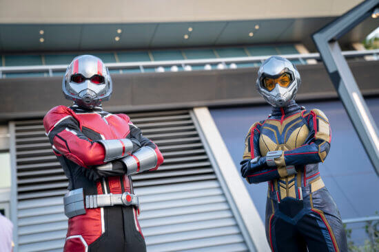ant man and wasp to make first debut at avengers campus