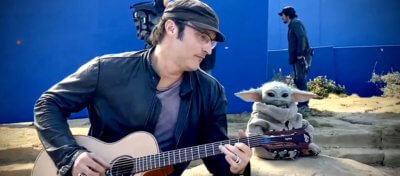 baby yoda guitar robert rodriguez