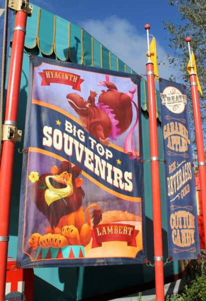 storybook circus big top souvenirs