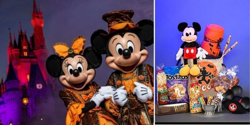 Halloween basket from Disney Floral and Gifts