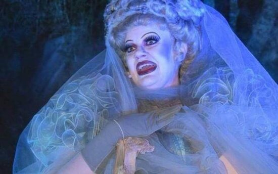 madame carlotta disney world halloween haunted mansion
