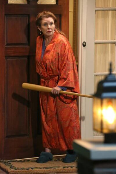 carrie fisher in the big bang theory on cbs