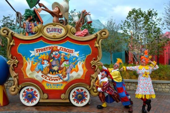 storybook circus at disney world