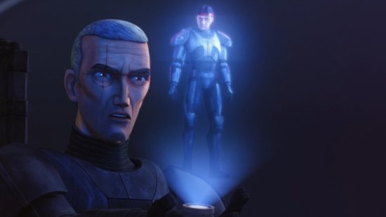crosshair with hunter hologram
