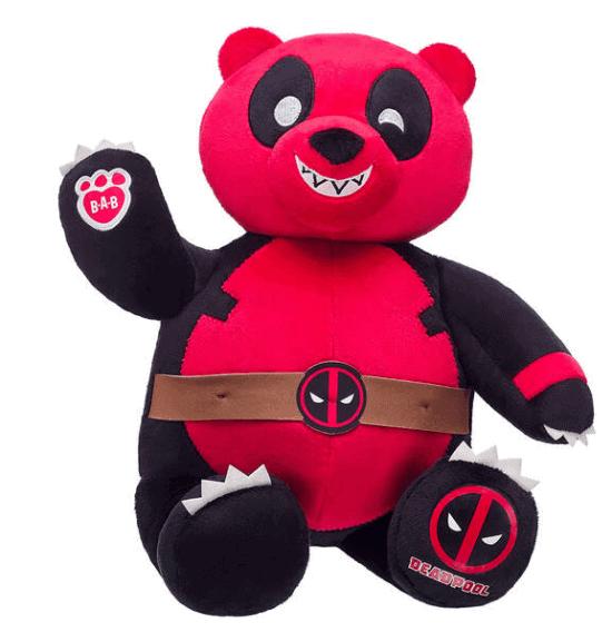 deadpool pandapool build a bear
