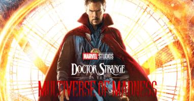 doctor strange sequel title card