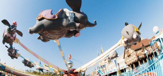 Dumbo The Flying Elephant in Tokyo Disneyland