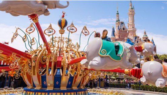 Dumbo in Shanghai Disneyland