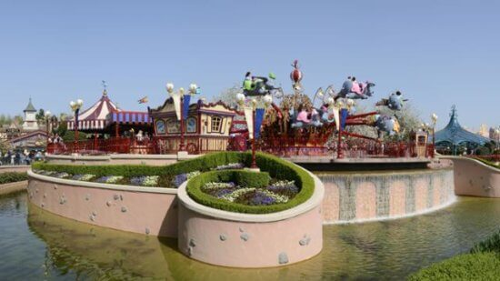 Dumbo The Flying Elephant in Disneyland Paris