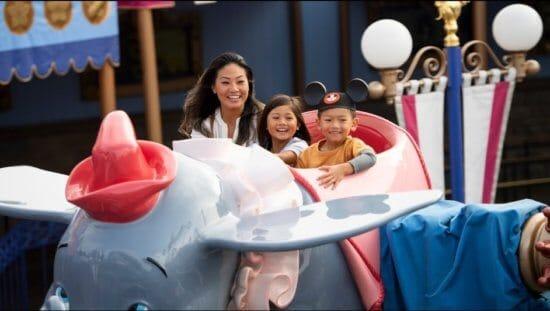 Dumbo The Flying Elephant In Disney World