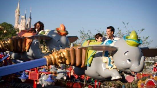 Dumbo The Flying Elephant in Magic Kingdom
