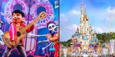 Hong Kong Disneyland Castle Show