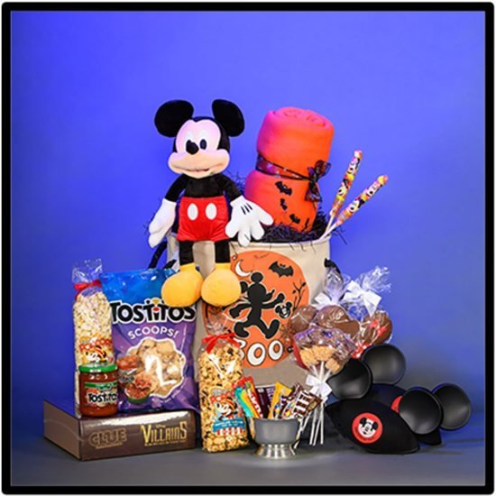 Disney Floral and Gifts Halloween Basket