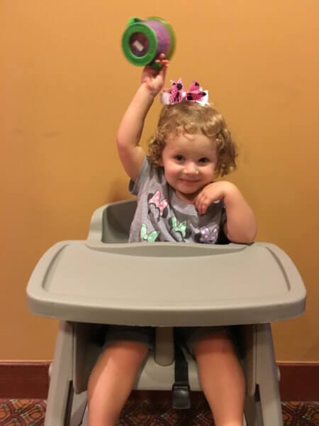 high chair baby care center disney