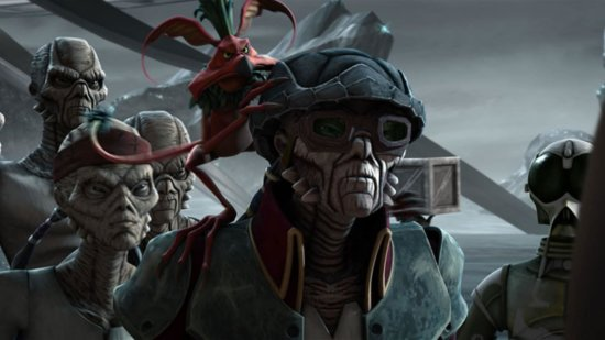 hondo ohnaka on pirate ship