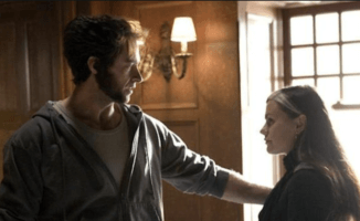 hugh jackman as wolverine and anna paquin as rogue