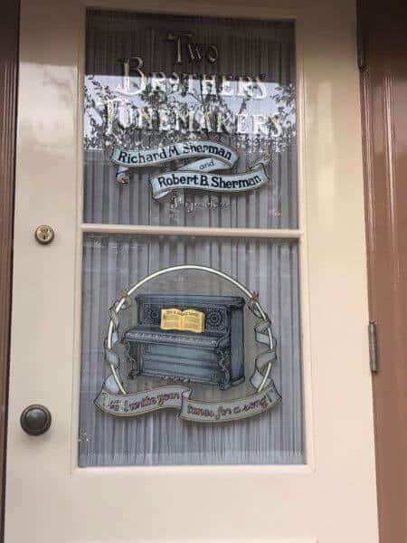 sherman brothers window