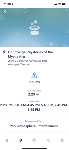 Dr. Strange Showtimes
