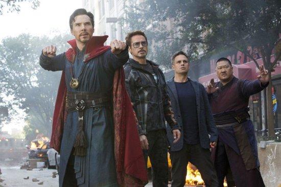 doctor strange, tony stark, bruce banner, wong