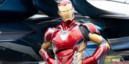 iron man in new armor mark 80