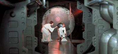 leia loading message into r2-d2