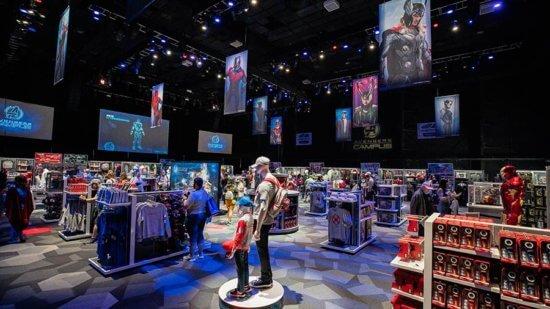 Disney California Adventure backlot premiere shop