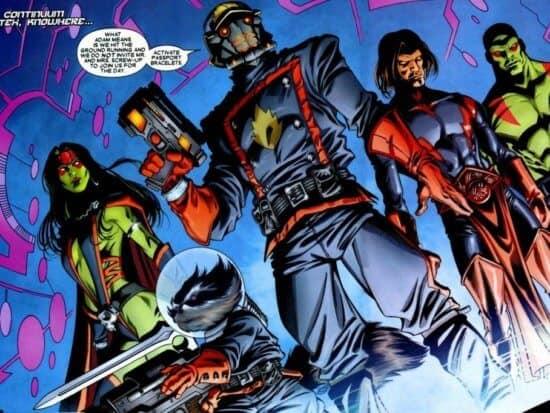 Marvel Comics Guardians