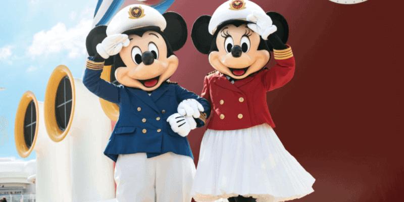 mickey and minnie on disney cruise line