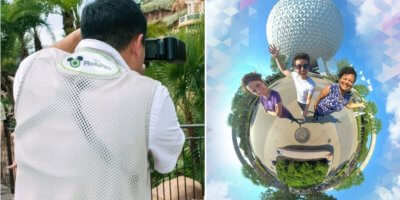 Tiny World Magic Shots in Walt Disney World